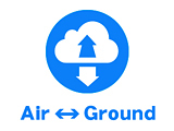 地上と空中、空中間連動のVRツアー
