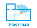 VRツアー特徴のフロアマップナビゲーション設定